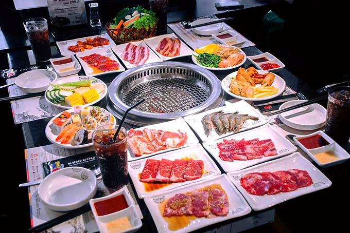 món ăn quán King BBQ Buffet ảnh5