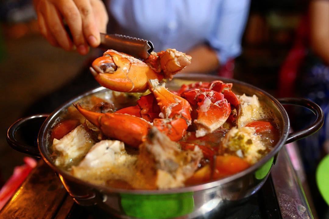 món ăn tại Lẩu Cua Khôi ảnh1