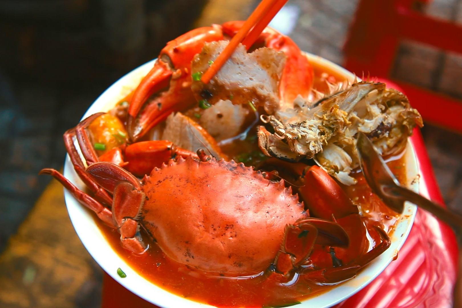 món ăn tại Lẩu Cua Khôi ảnh2