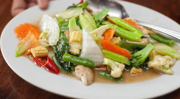 món chay nhà hàng Quang Minh ảnh3