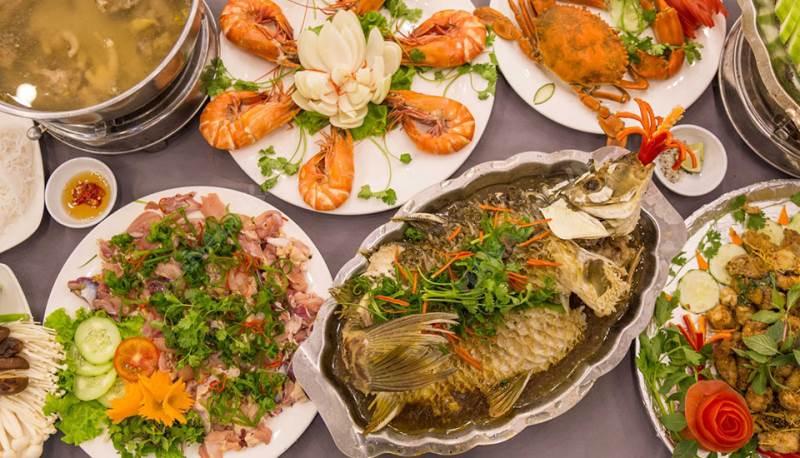 món ăn Làng hải sản Sài Gòn ảnh5