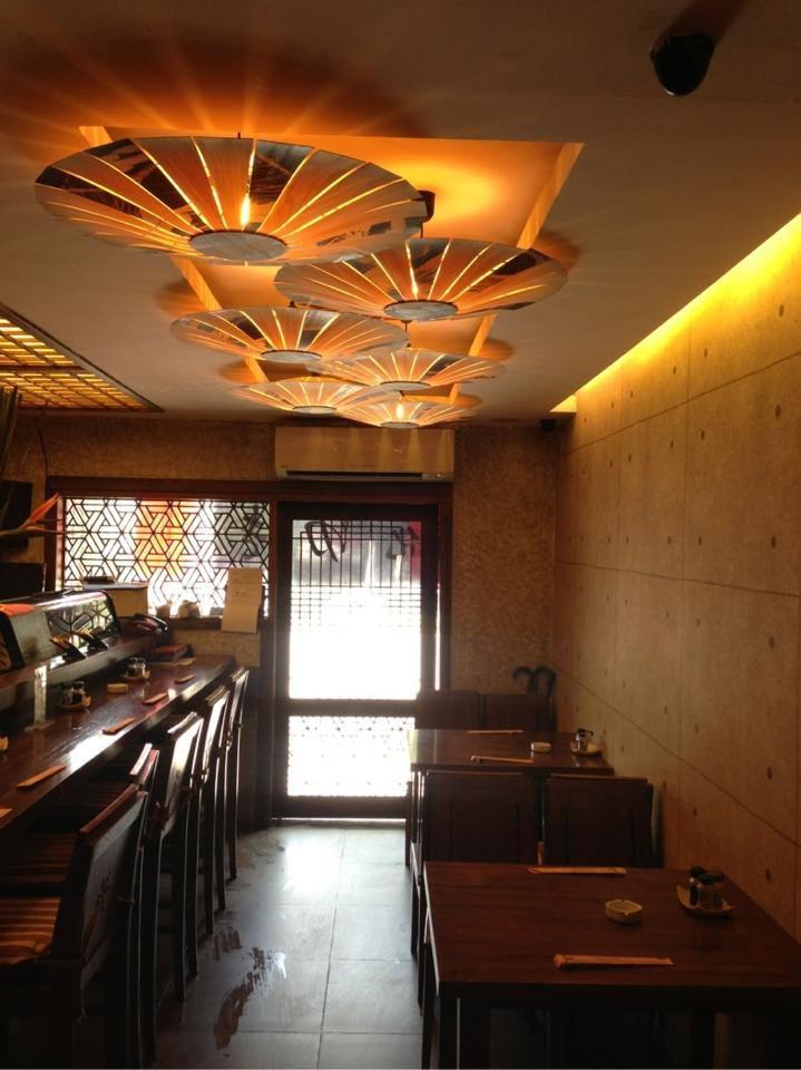 Nhà hàng NhậtHanayuki không gian