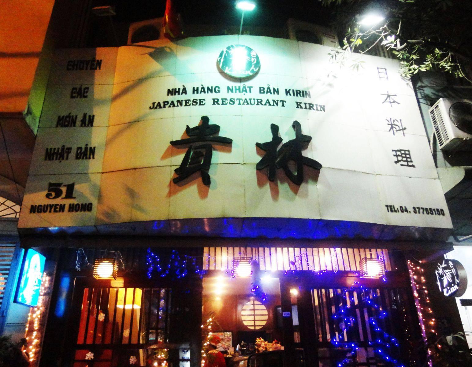 Nhà hàng Nhật Kirin địa chỉ