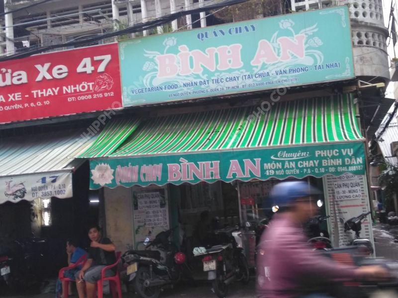 Quán Chay Bình An địa chỉ
