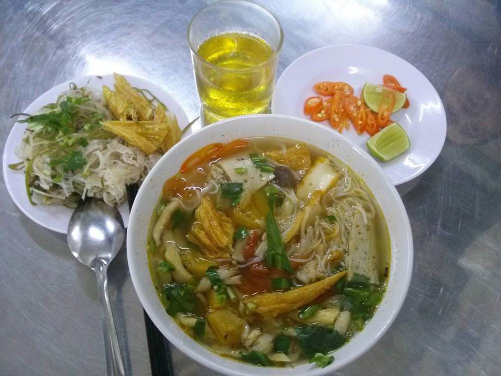 Quán Chay Bình An món ăn