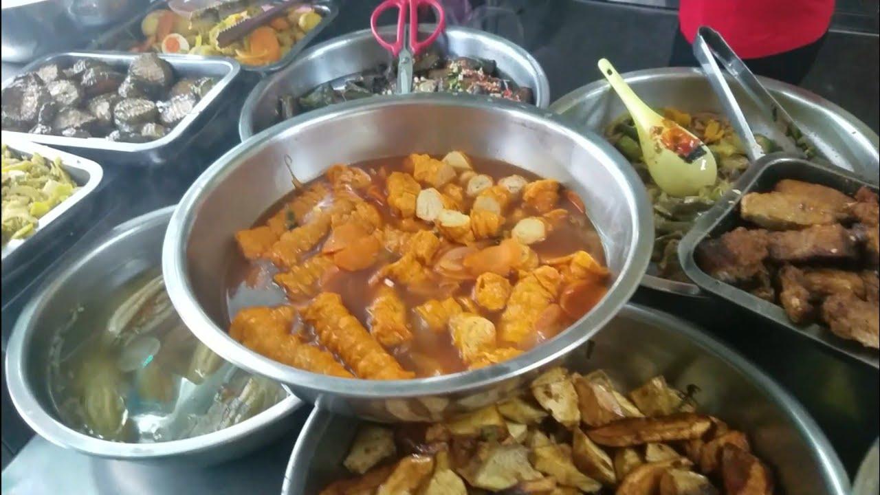 Quán chay Thanh Ái menu