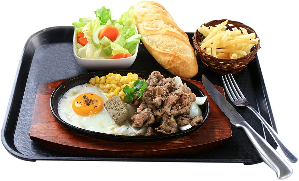 Review món ăn tại nhà hàng Hai Con Bò Beefsteak 1
