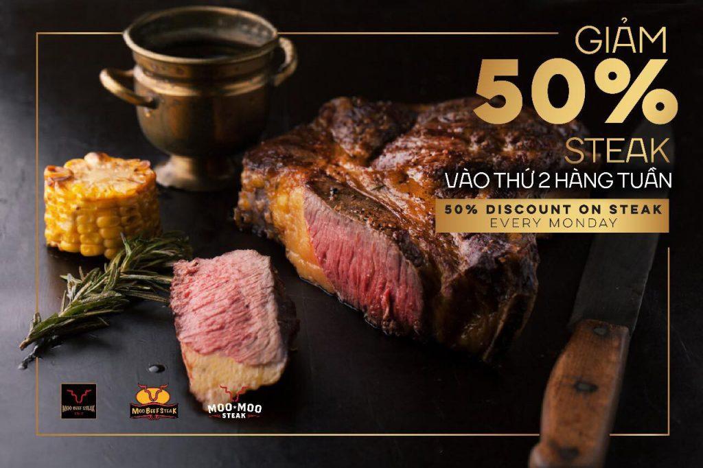 Review món ăn tại nhà hàng Hai Con Bò Beefsteak 4