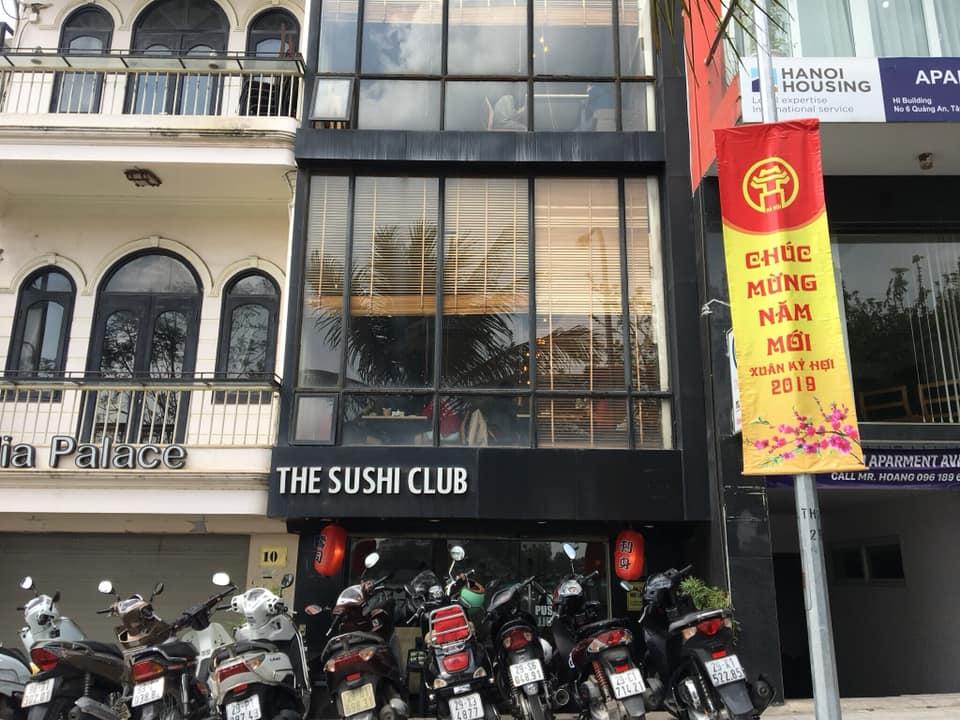 the sushi club địa chỉ