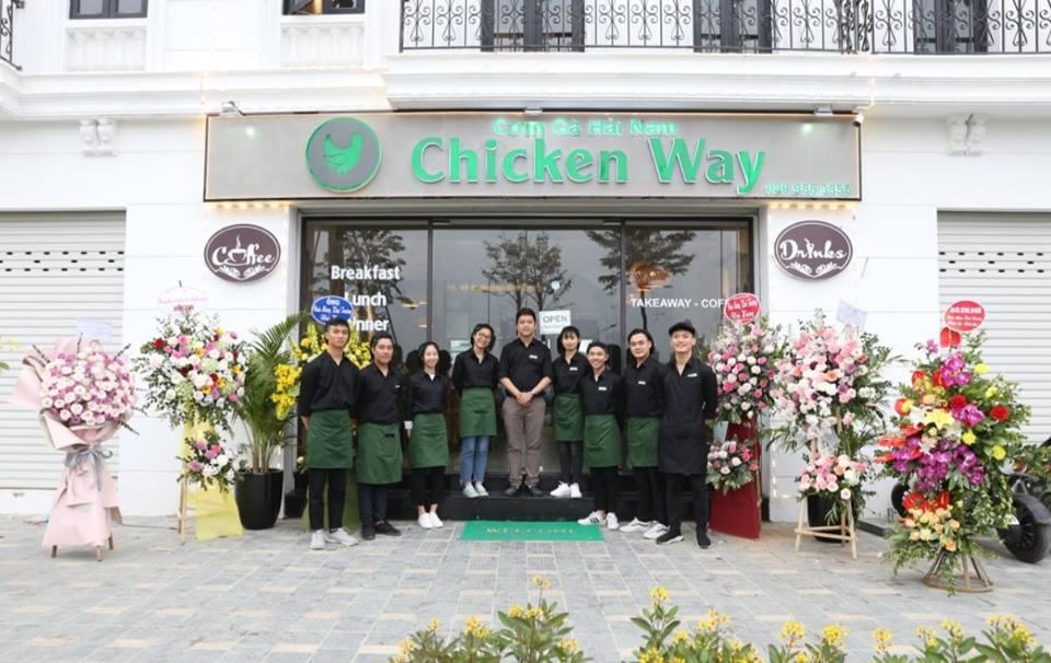 Chicken Way nhân viên