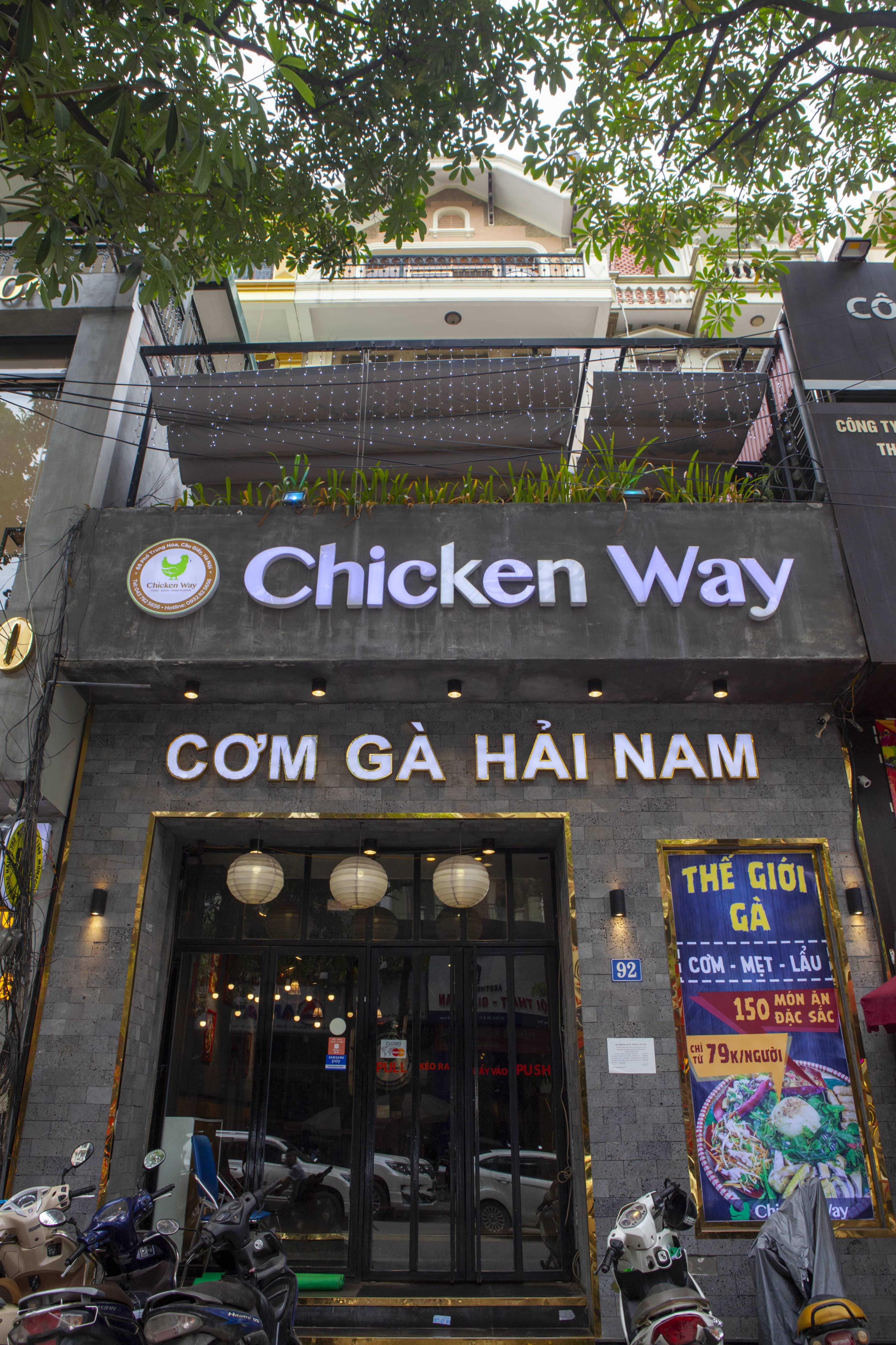 nhà hàng Chicken Way