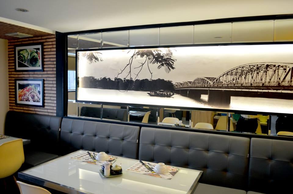 Nhà hàng món Huế thiết kế