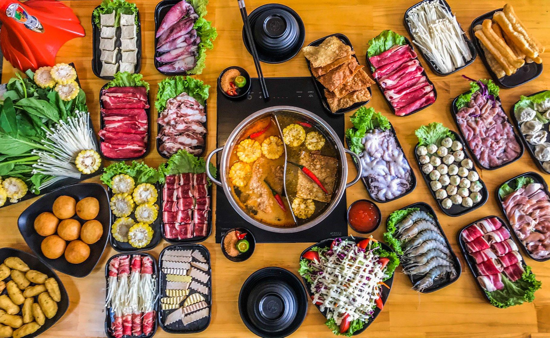 Review đồ ăn tại Lẩu Wang 1