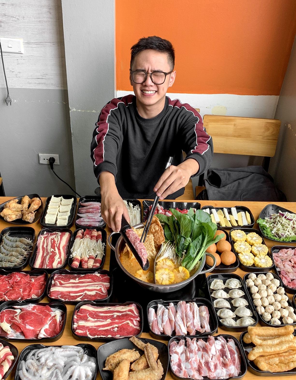Review đồ ăn tại Lẩu Wang 3