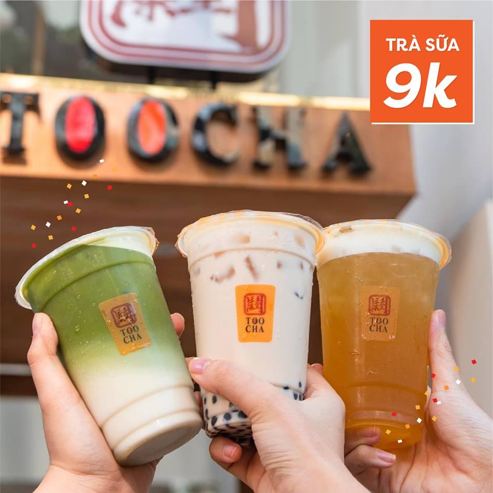 Ưu đãi hấp dẫn của trà sữa Toocha