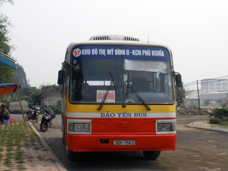 du lịch núi trầm bằng xe bus