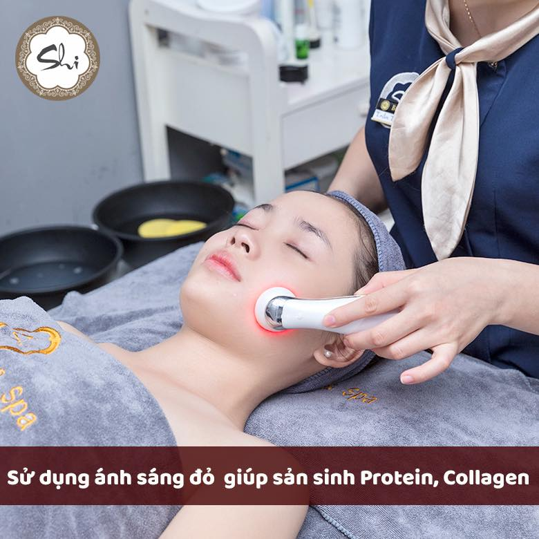dịch vụ trị mụn Shi beauty & Spa