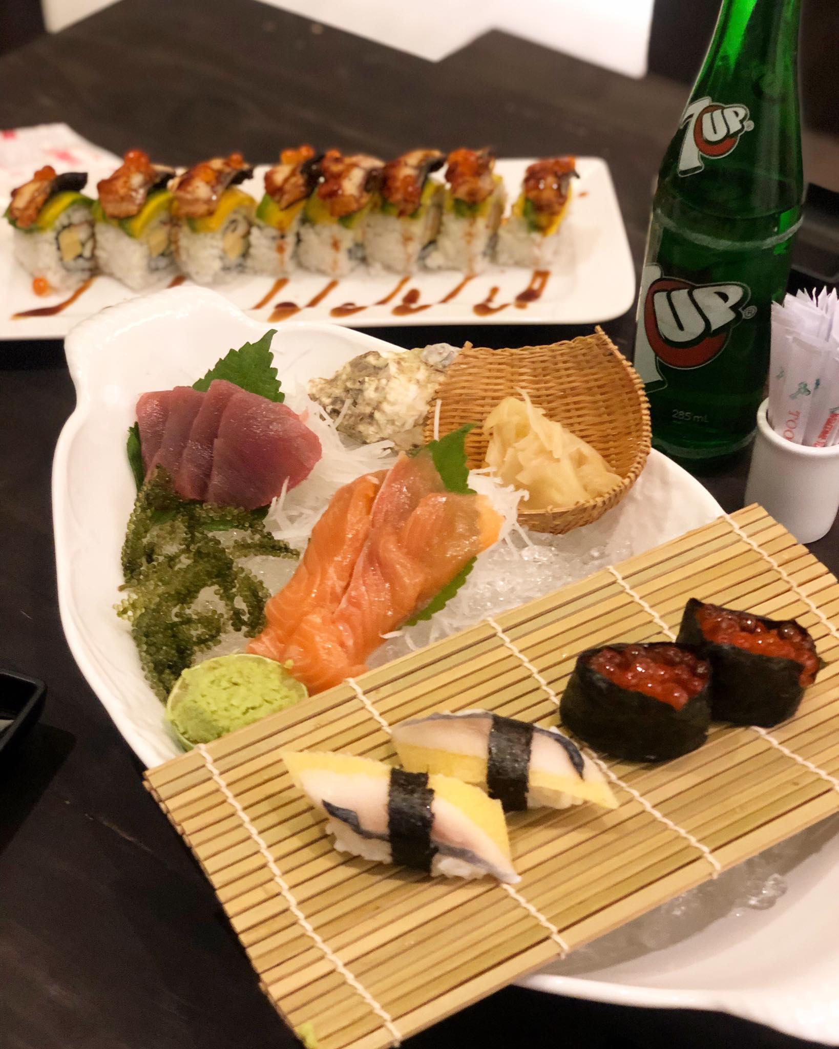 đồ ăn Nhật Vương Sushi & Fastfood