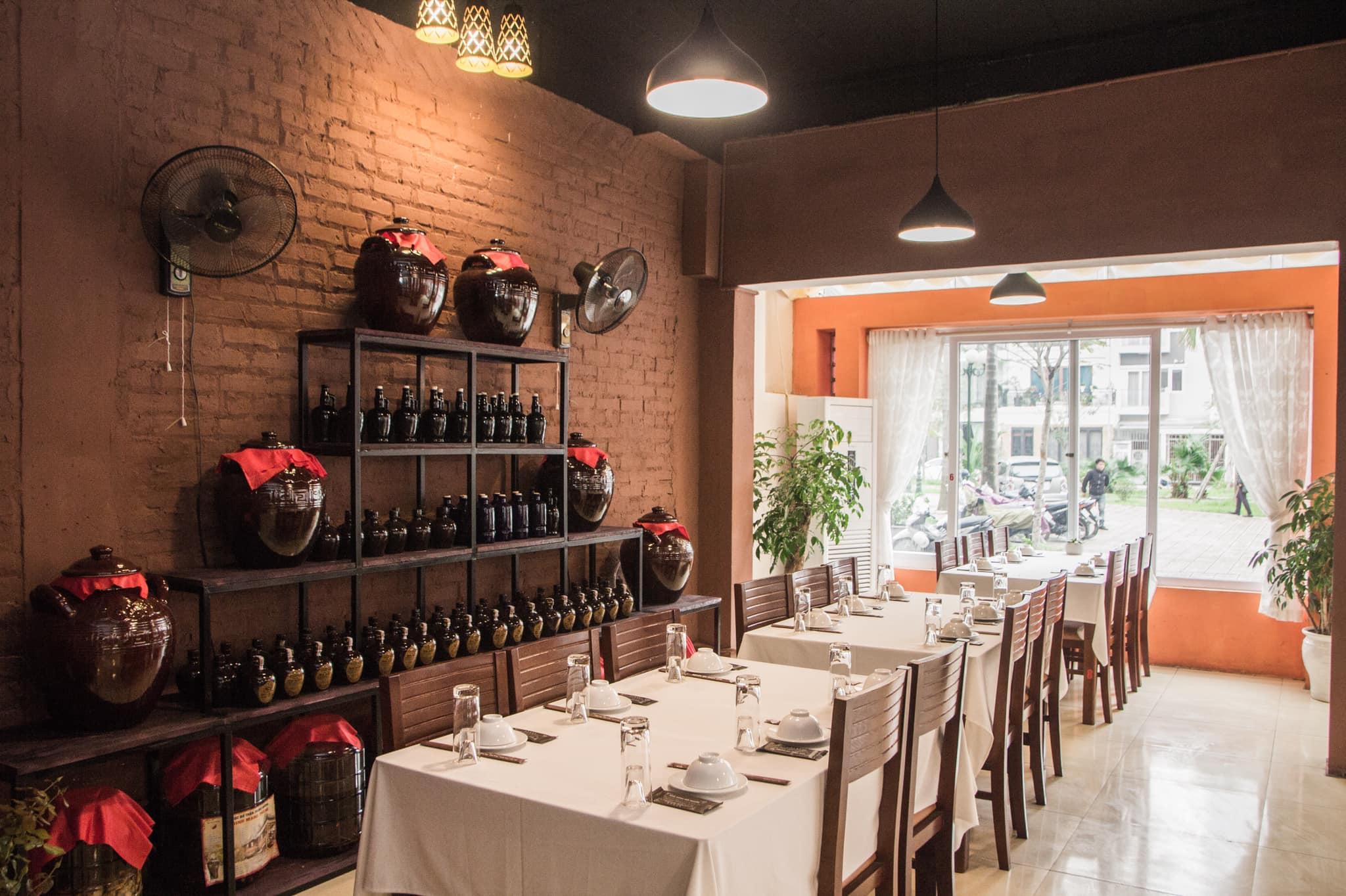 Không gian Nhà hàng Cội nguồn