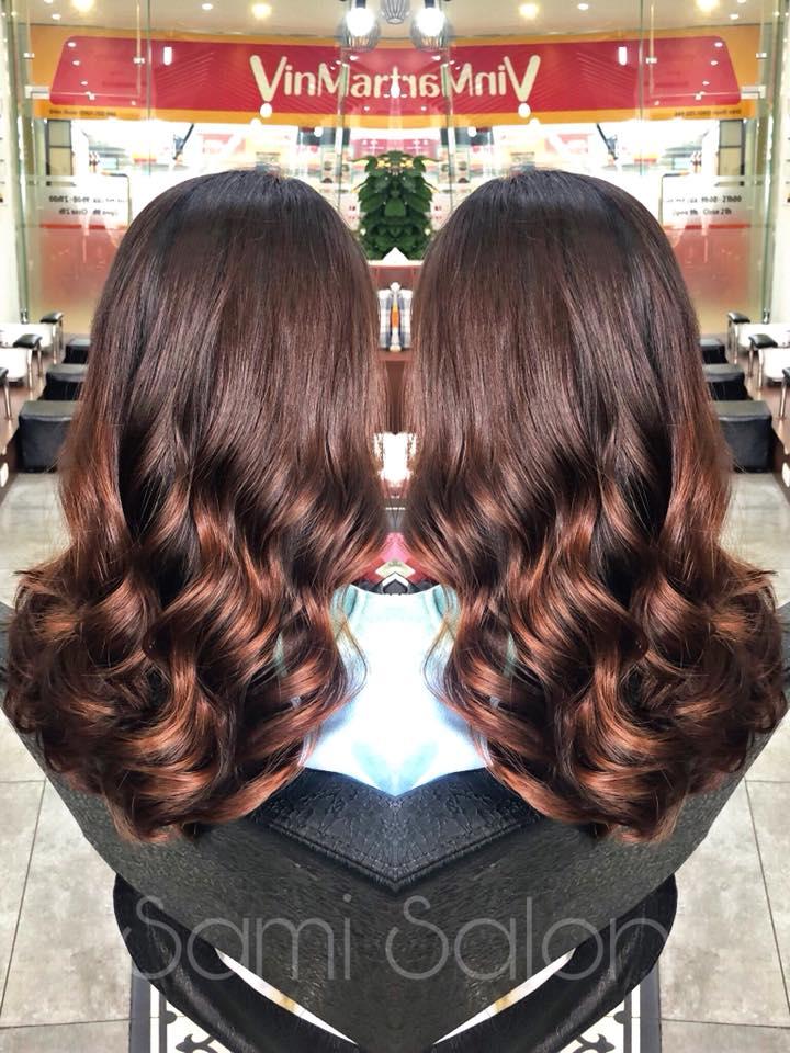 Làm tóc Sami Hair Nail & Spa