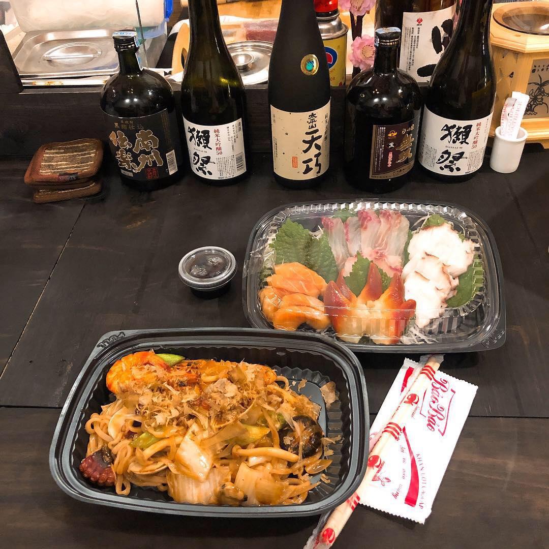 Nhật Vương Sushi ưu đãi