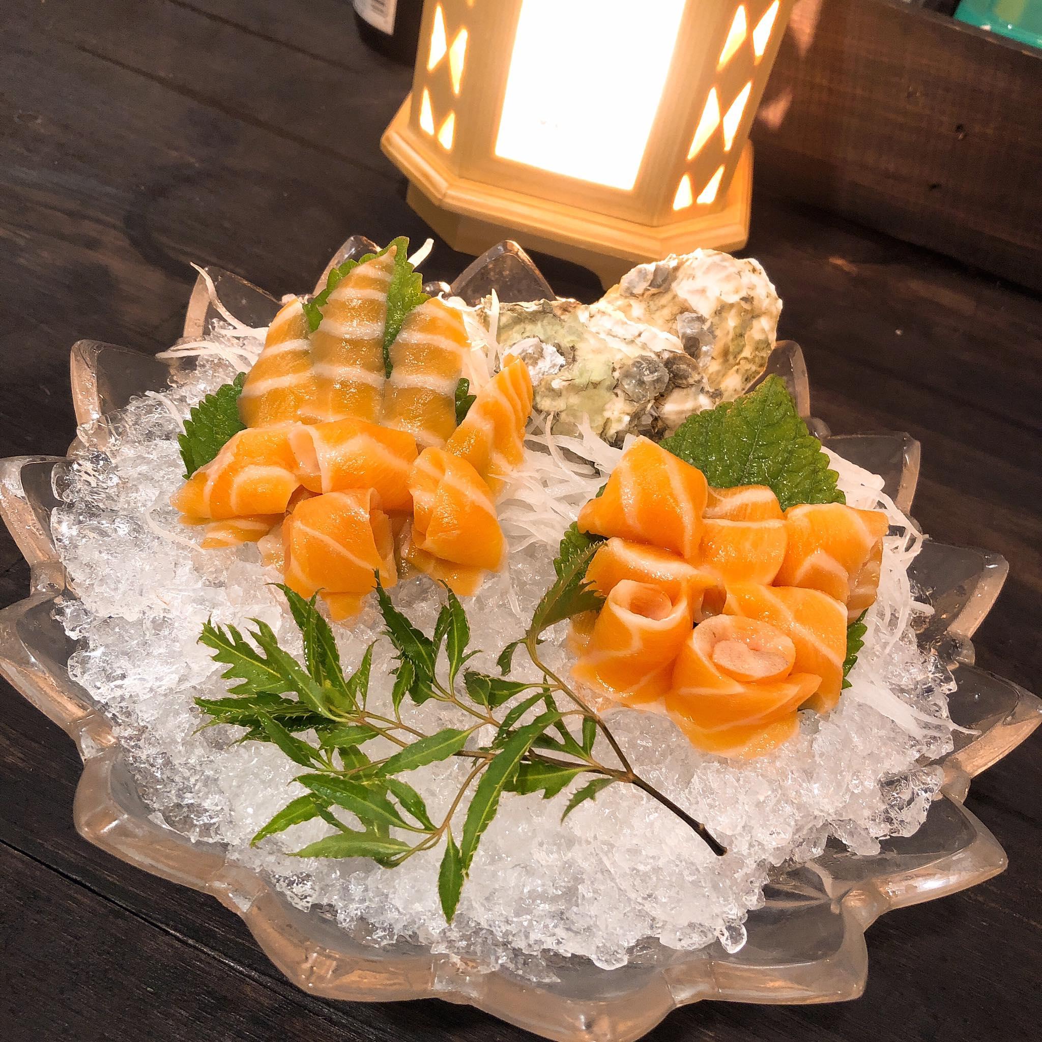review đồ ăn đồ ăn Nhật Vương Sushi & Fastfood