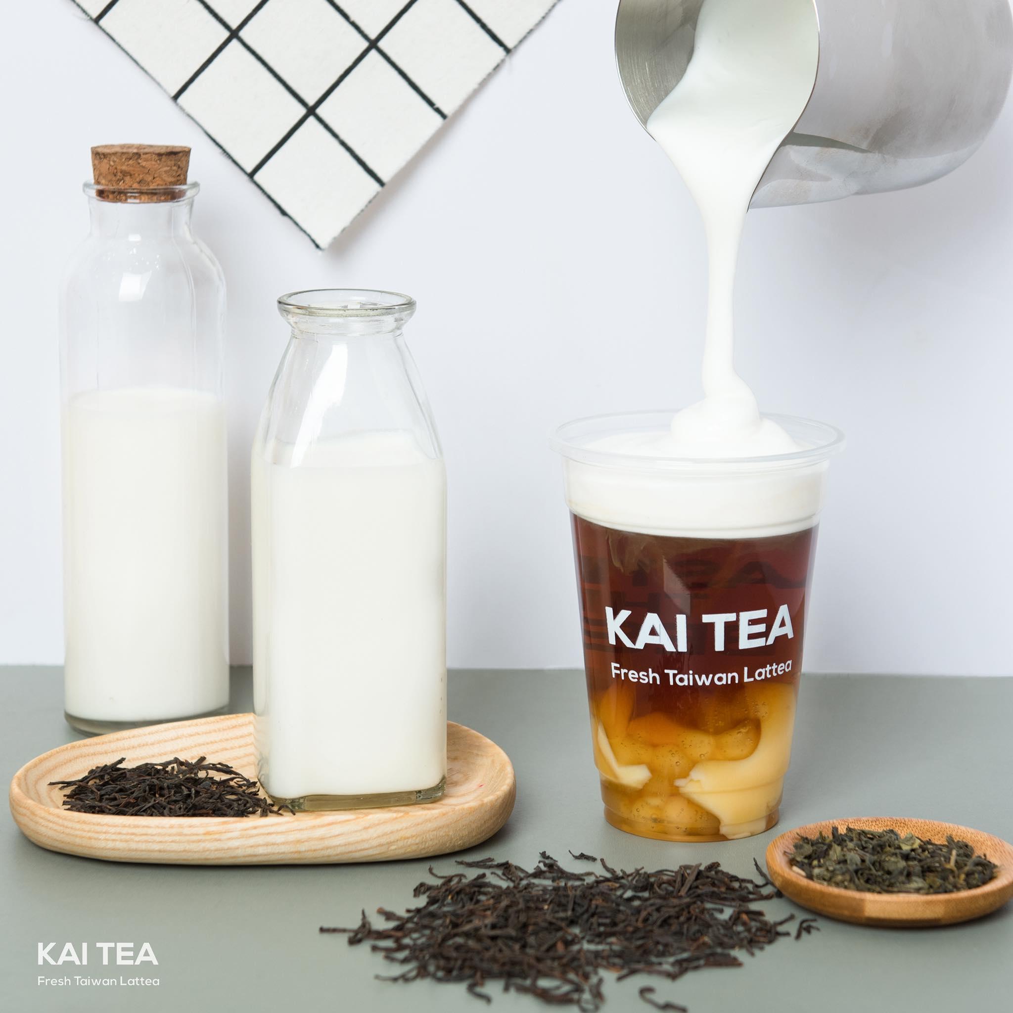 Trà sữa tươi kaitea