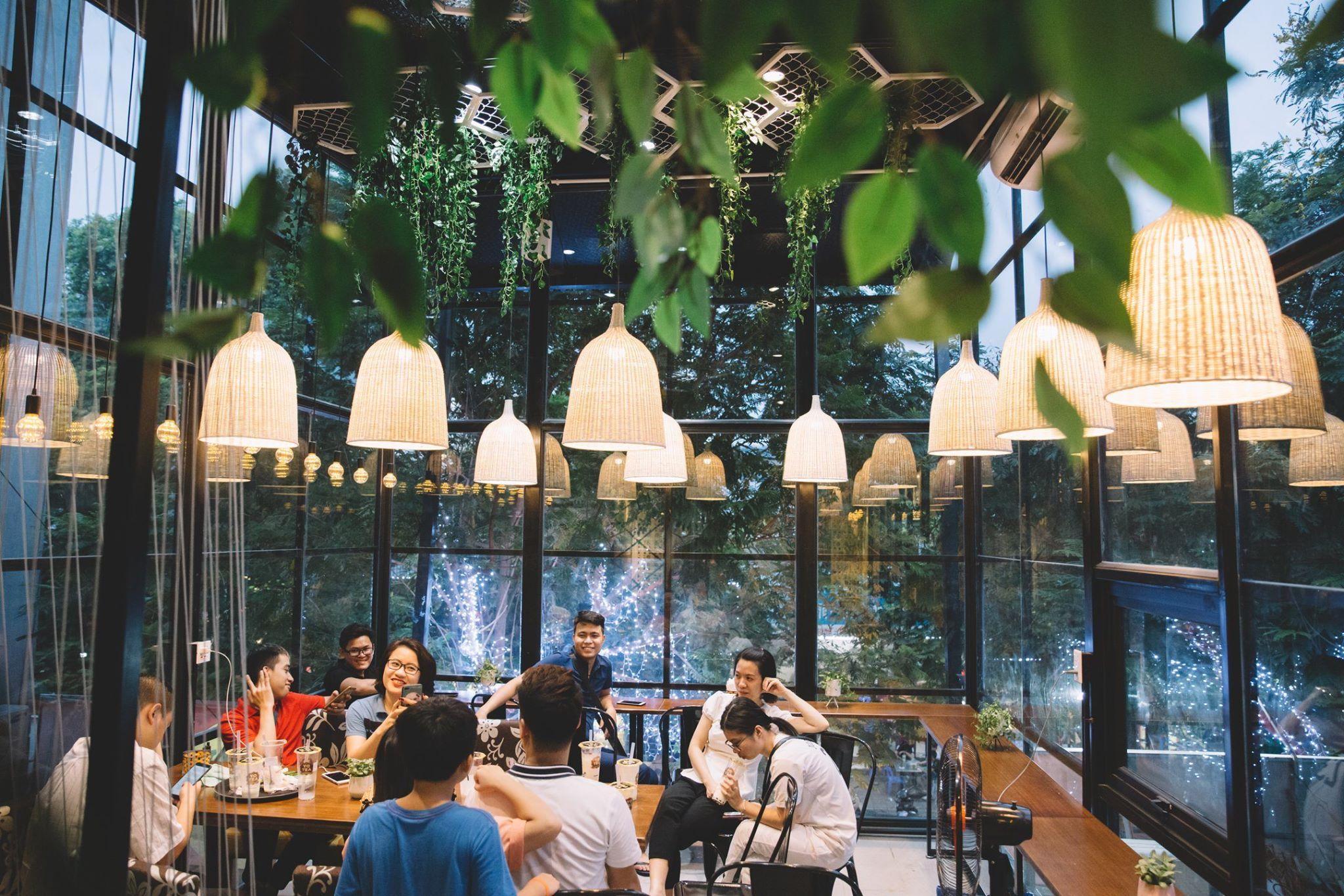 Không gian quán Pozaa tea