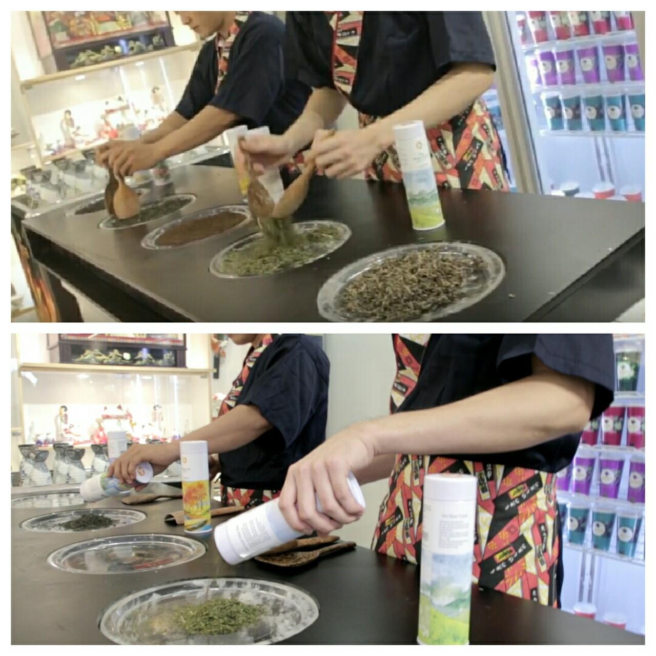 cách pha chế trà sữa Jactea