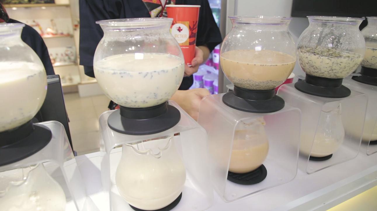 Pha chế trà sữa nướng Jactea