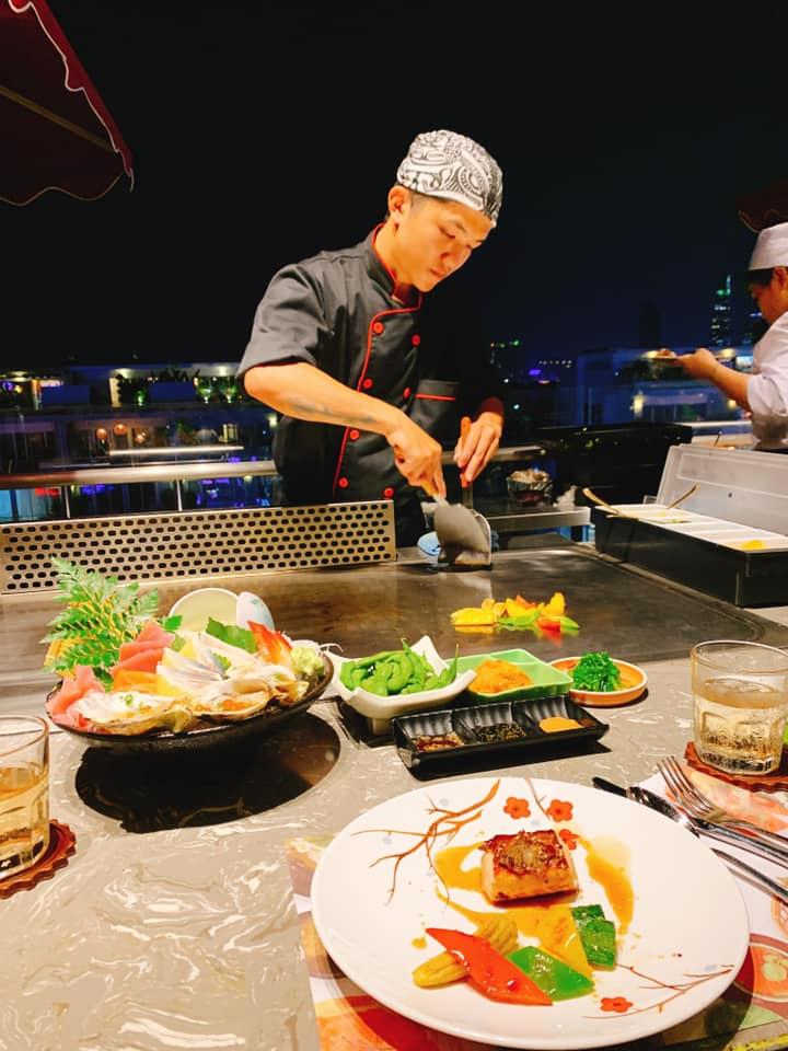 phong cách phục vụ iki sushi