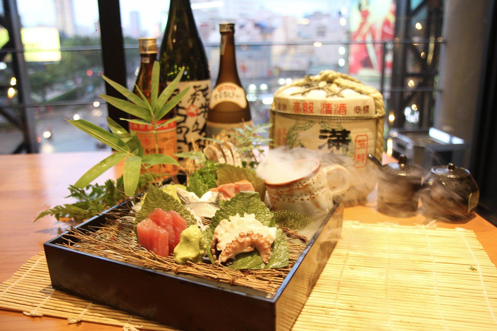 Sasimi Iki sushi