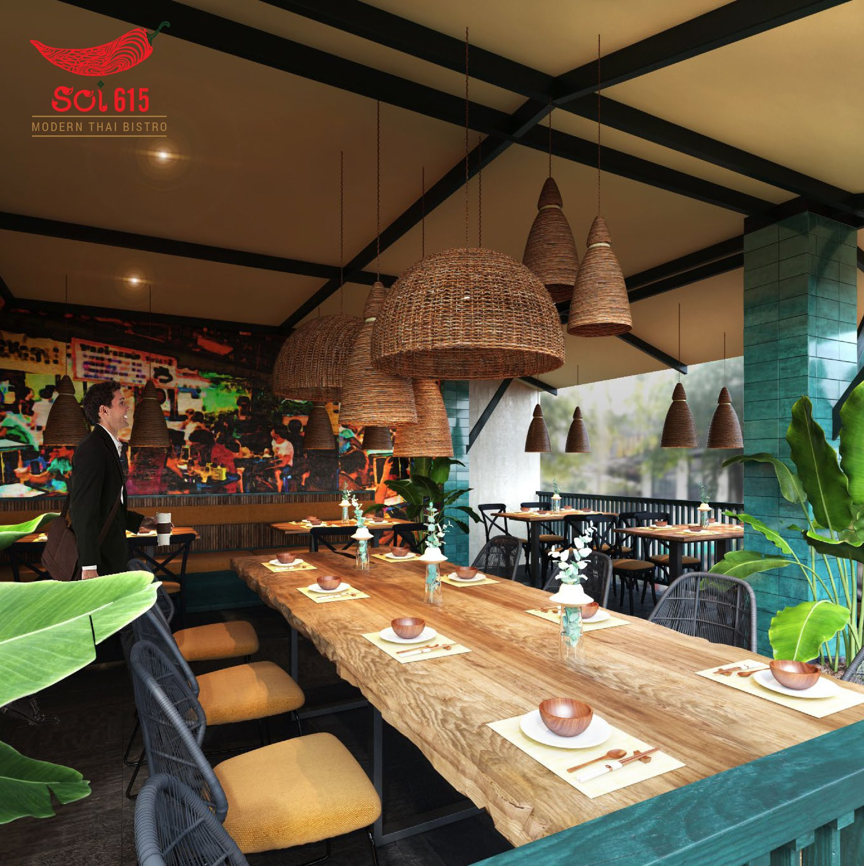 không gian quán SOI Restaurant