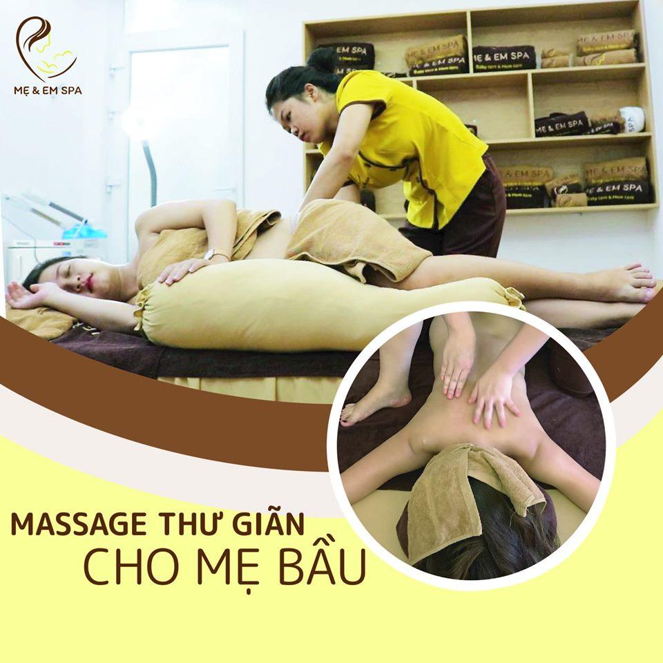 massage mẹ bầu