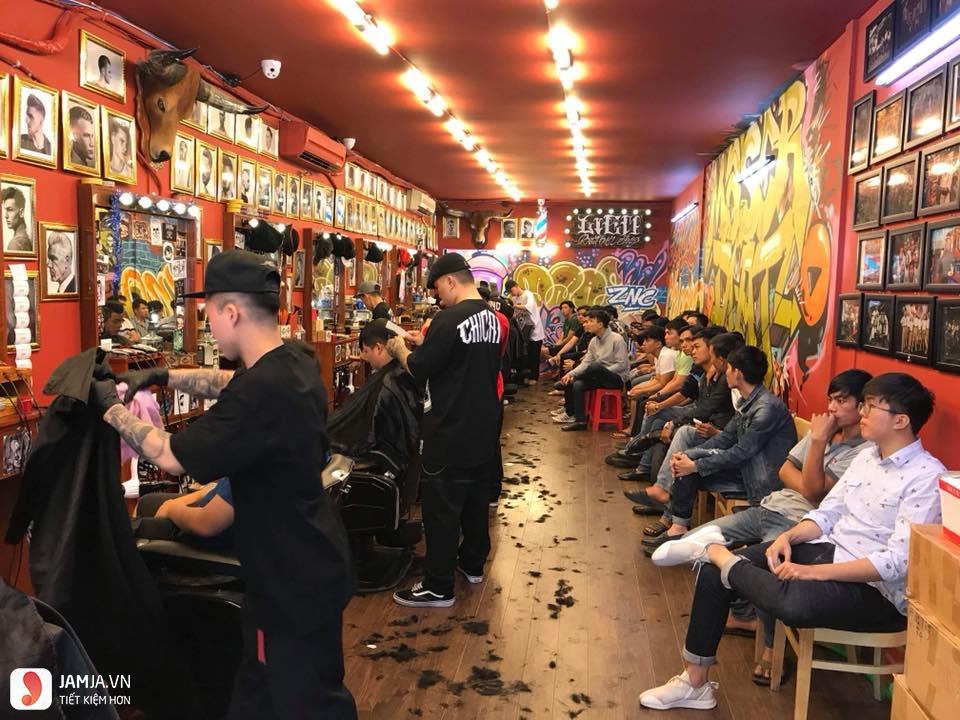 dịch vụ tại liêm Barber Shop