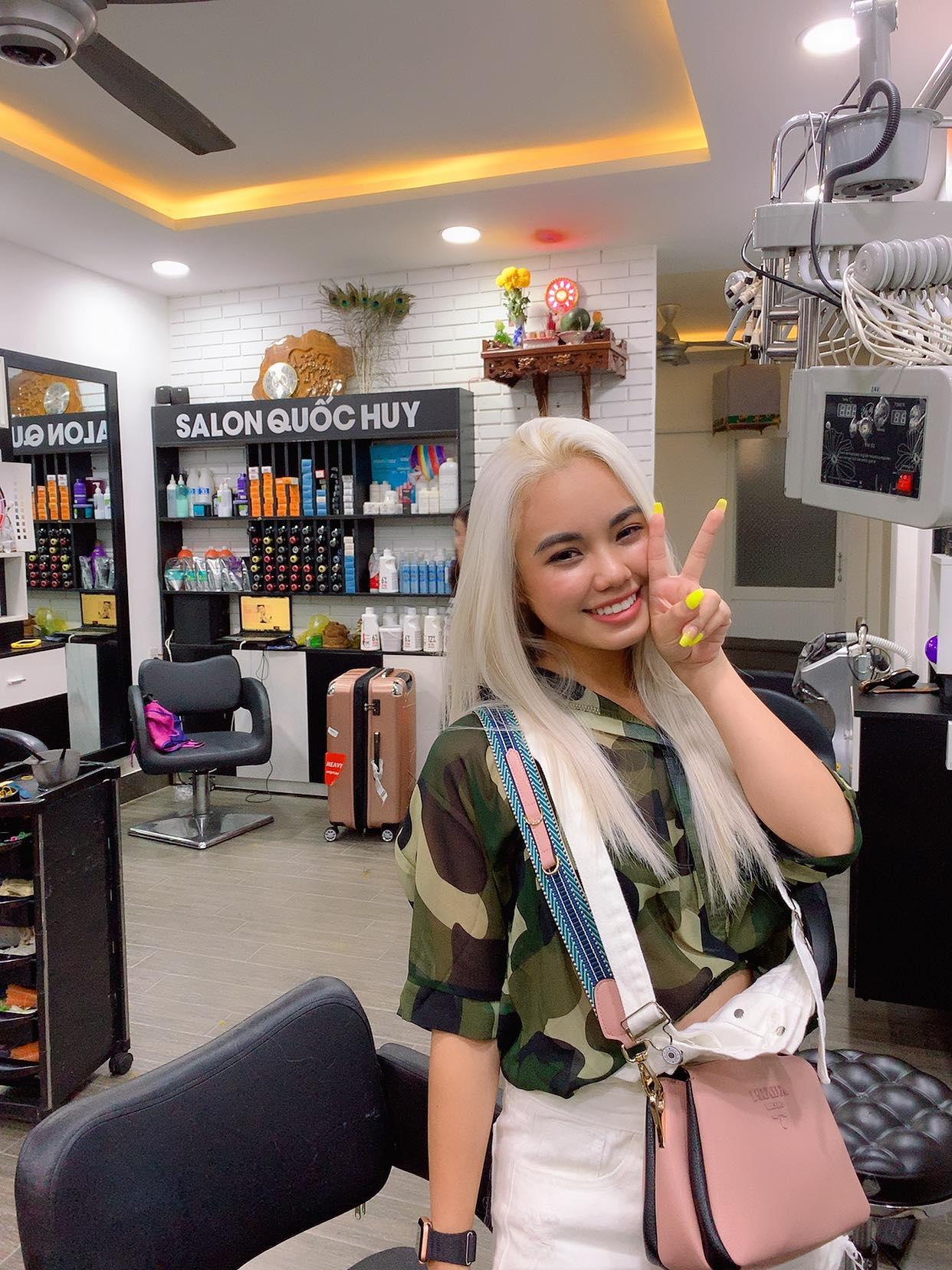 không gian hair salon quốc huy