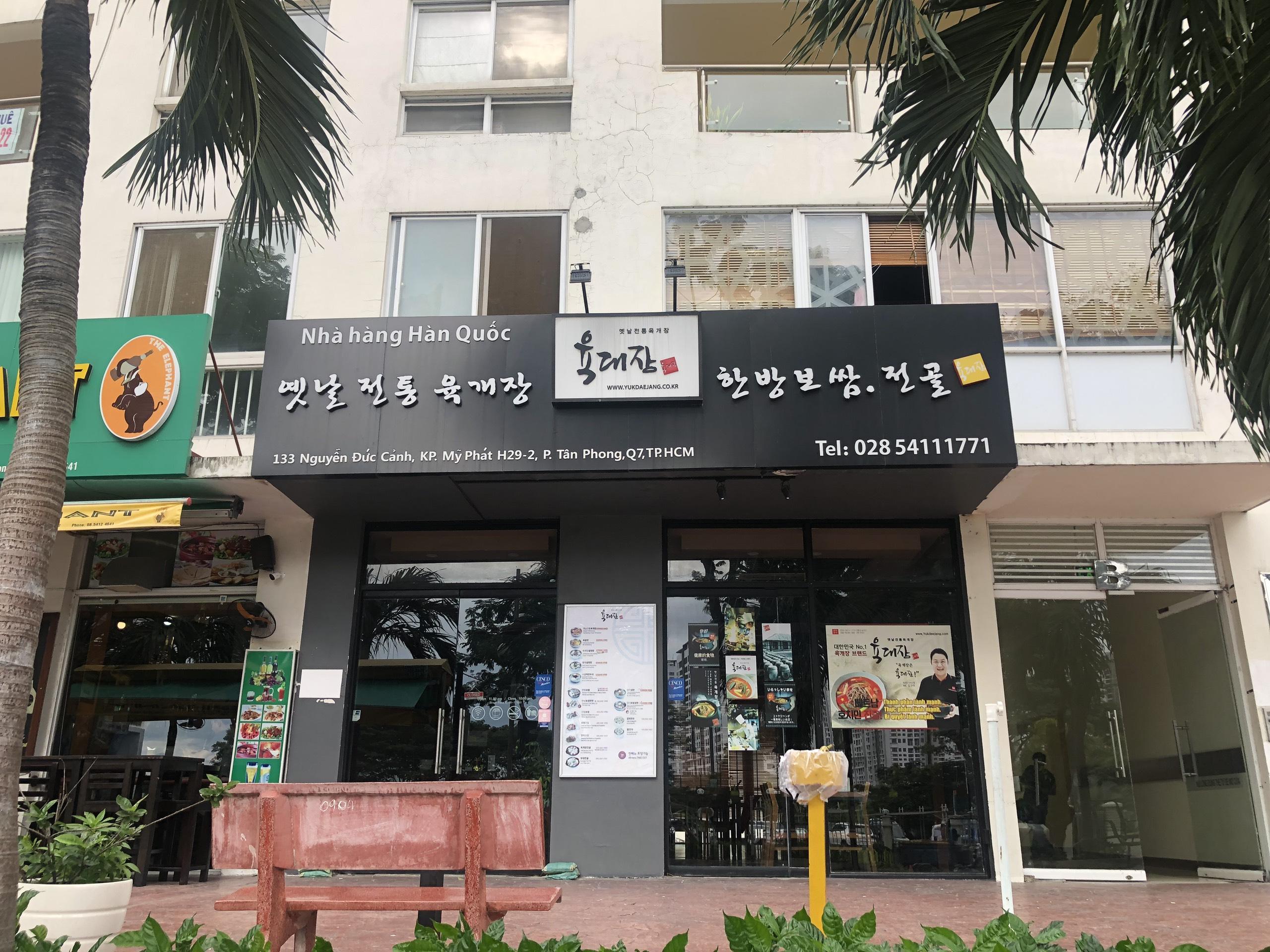 nhà hàng Yukdaejang