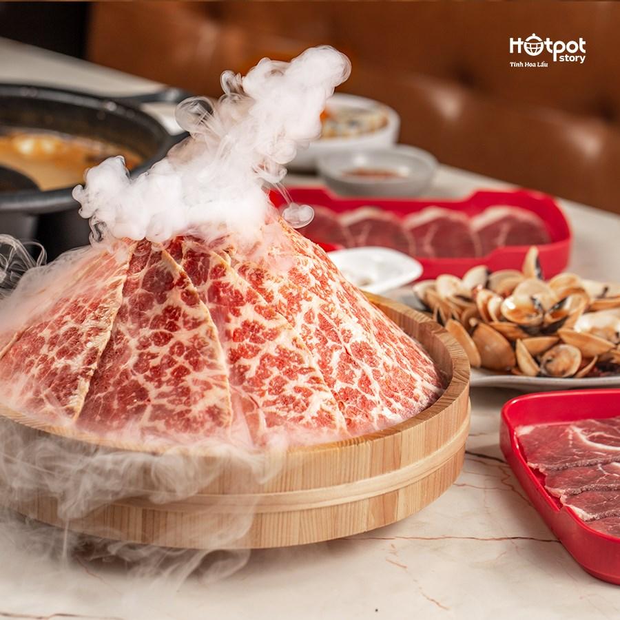 thịt bò hotpot story