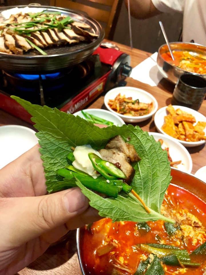 thịt lợn hấp Yukdaejang