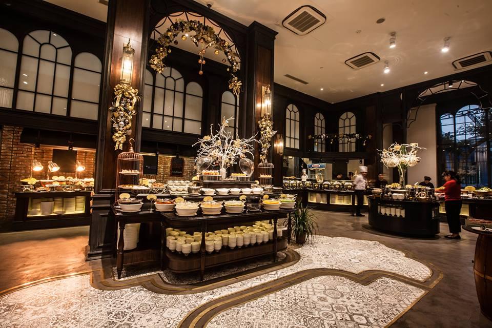 Buffet Sen Hồ Tây - Nhà hàng đặt tiệc 20/11 ở Hà Nội