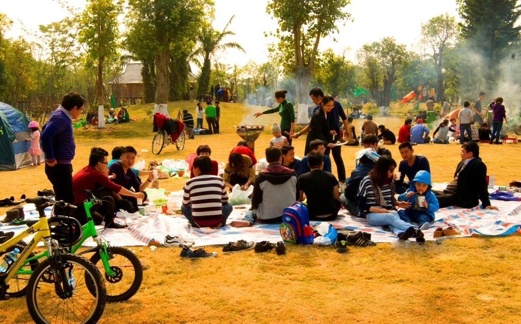 Ecopark - Địa điểm họp lớp gần Hà Nội lý tưởng
