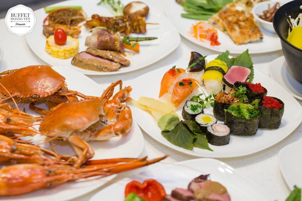Hoàng Yến Buffet Premier - Địa điểm họp lớp 20/11 ở Sài Gòn