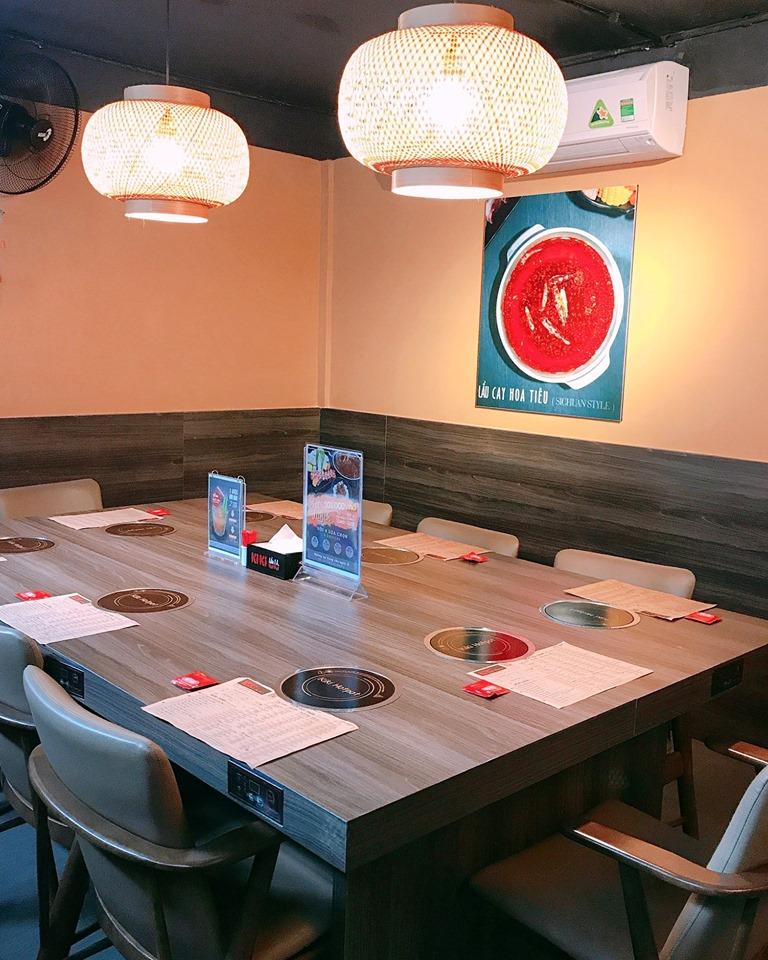 Kiki Hotpot - Nhà hàng đặt tiệc 20/11 ở Sài Gòn