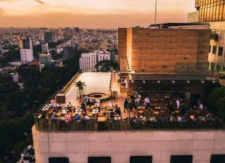 Social Pool Rooftop Bar - Hotel Des Arts Saigon