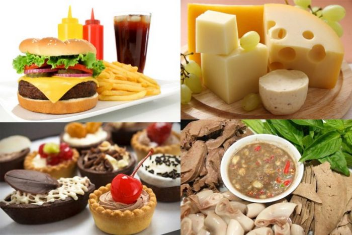ăn uống không lành mạnh