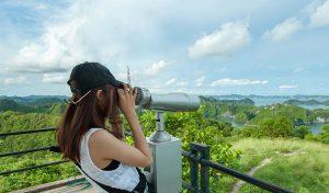 Tại đây bạn có thể ngắm nhìn thiên nhiên xinh đẹp từ kính viễn vọng