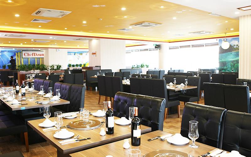 không gian Chef Dzung