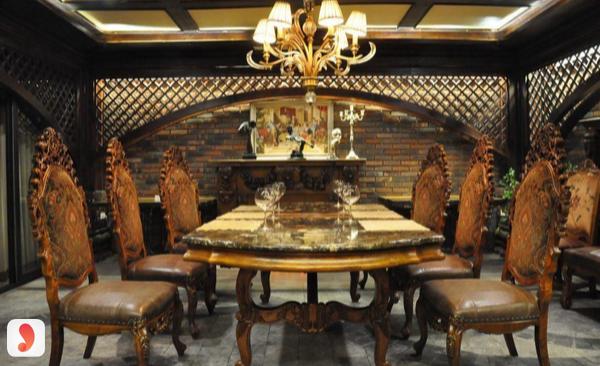 không gian nhà hàng rượu vang S1980 Wine Steak
