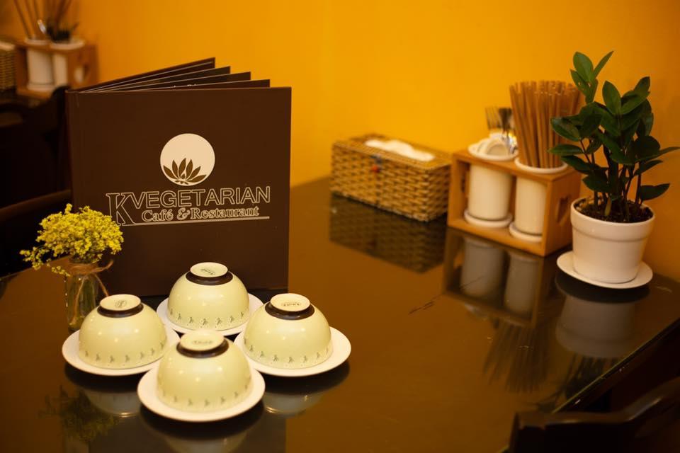 không gian kvegetarian restaurant&cafe
