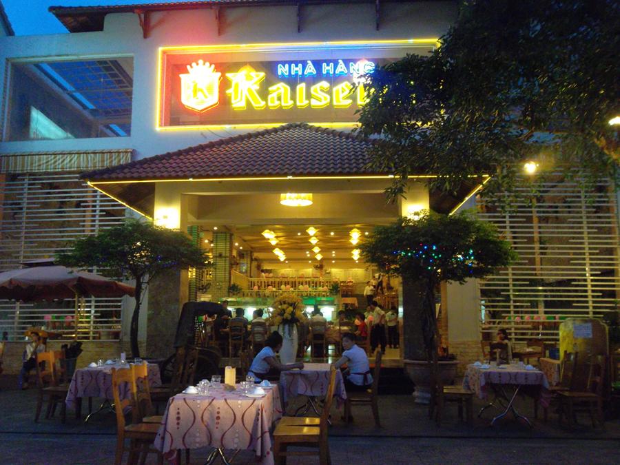 không gian Nhà hàng Kaiserin